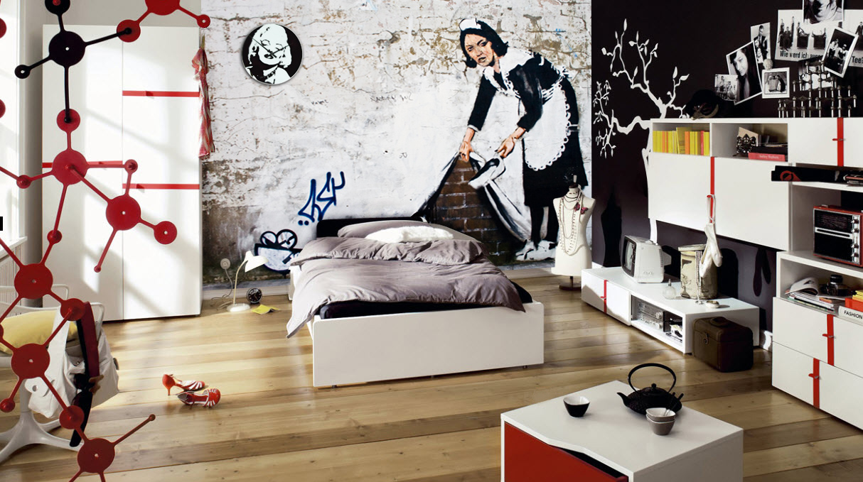 Cartoon Circus Wall Mural additionally Fruits Vegetables Image Kitchen Tiles Floor Decor Inter 140240383 further 131188 furthermore 12 Inspiring Ways Bring Captain America Winter Soldier Black Widow Home together with A 127998. on design bedroom wall murals