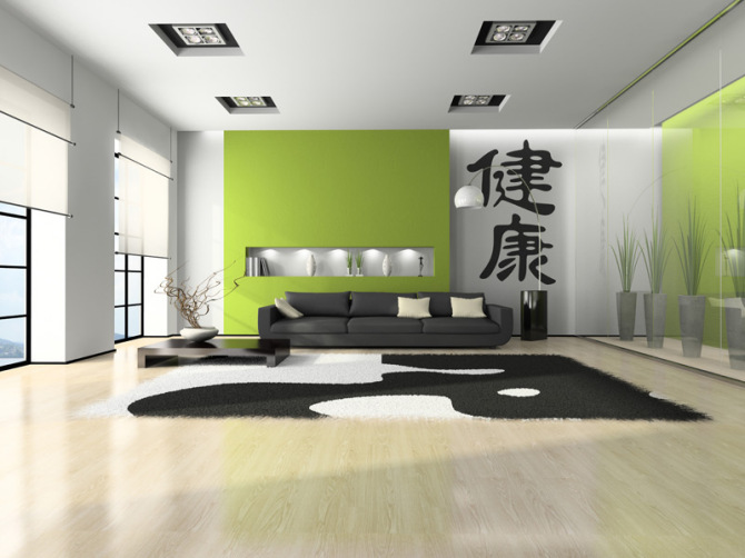 Health Japanese Symbol - wall mural