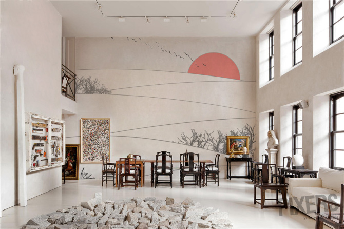 The Land of Rising Sun - wall mural