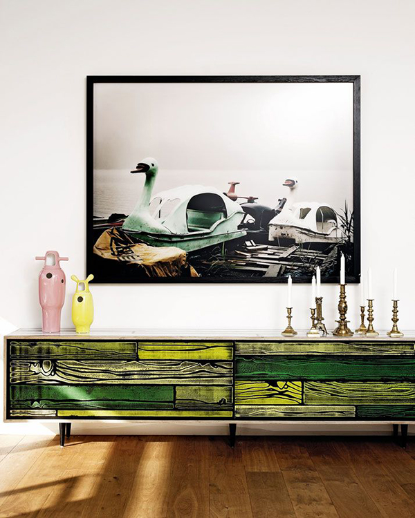 Live colorfully colours in interiors by pixers Richard woods designs