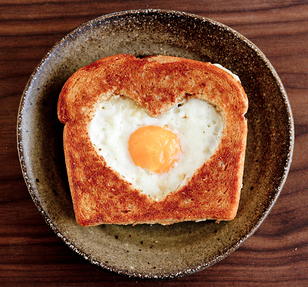 Heart Toast Valentine's Idea PIXERS blog
