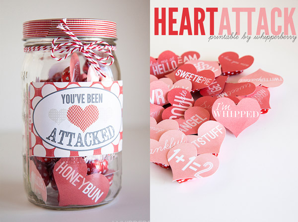 Heart Attack Jar Valentine's Day PIXERS blog