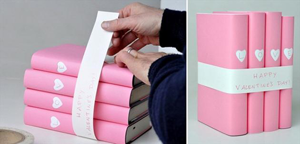 diy-valentines-day-gifts-girlfriend-books-wrapping-idea