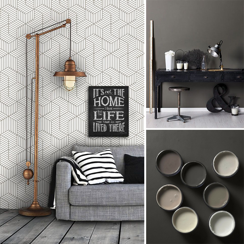 Discover endless possibilities of colour gray in interior design!