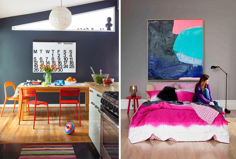 Discover endless possibilities of colour gray in interior for Gay bedroom ideas