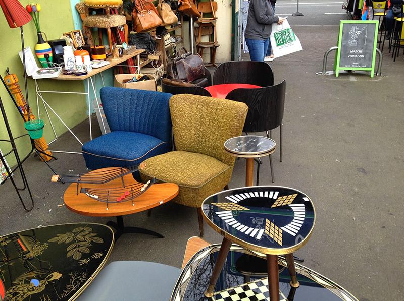 Mid-Century Furniture Paris Flea Market - PIXERS blog