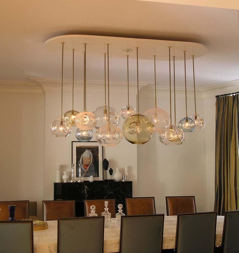 Glass Pendant Lights - Mid Century Style - PIXERS blog