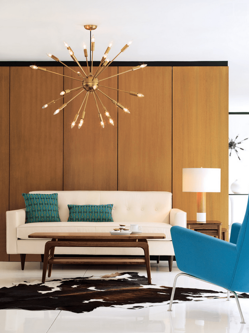 Mid Century Style in a Living Room - PIXERS blog