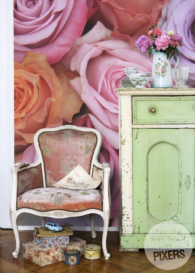 Fototapeta PAstelowe Róze - PIXERS