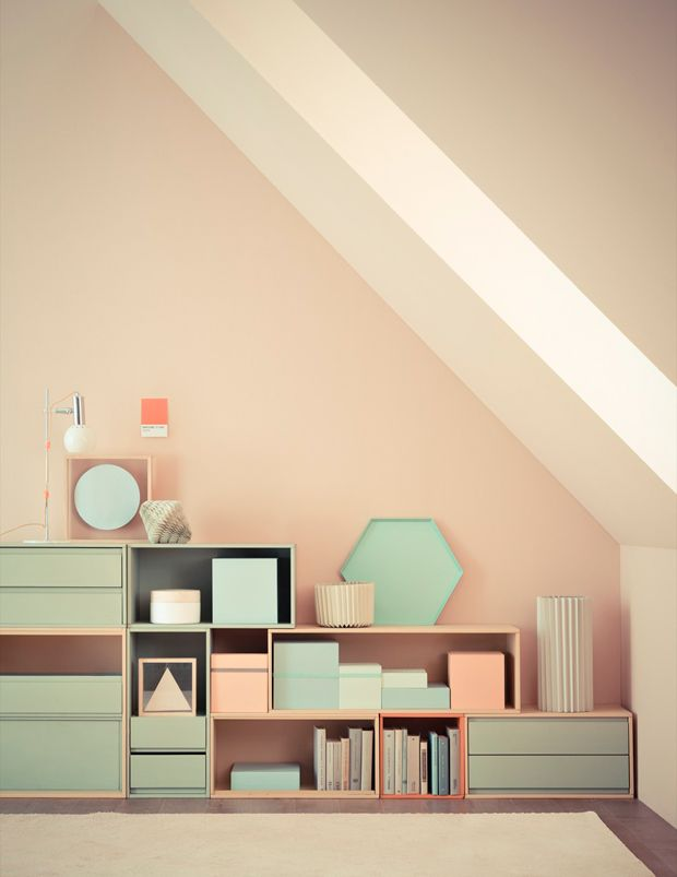 Mint & Peach Wall and Home Decor