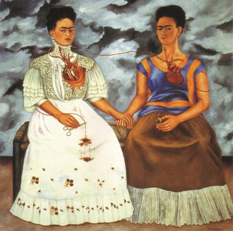 Dwie Fridy, 1939 - Frida Kahlo