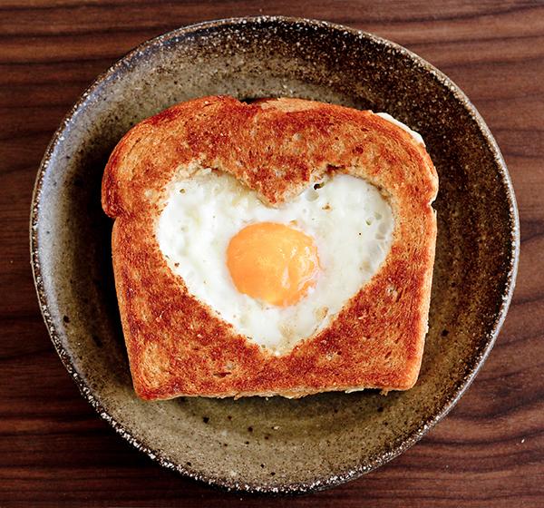 Heart Toast Valentine's Idea PIXERS blog