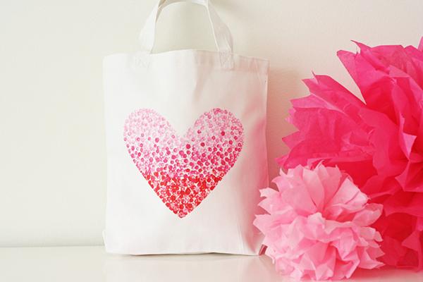 Heart Bag DIY