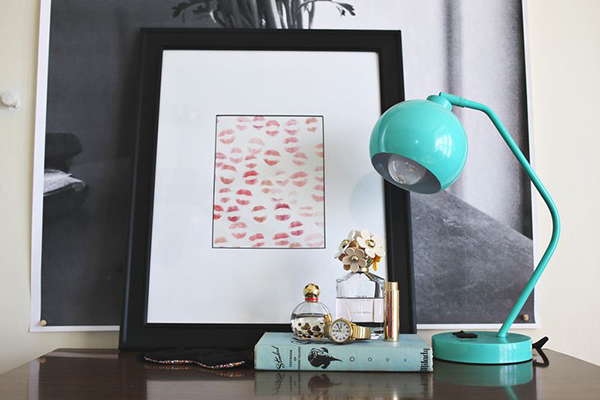 LipstickArt DIY Valentine's Gift PIXERS blog