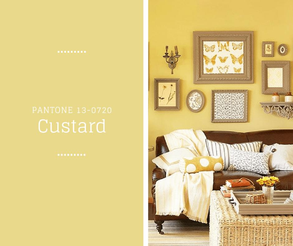 Custard - Kolory na Wiosnę PANTONE