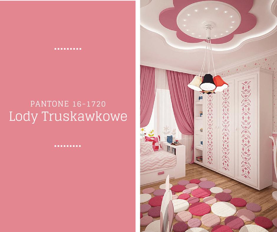 Lody Truskawkowe - Kolory Wiosny PANTONE
