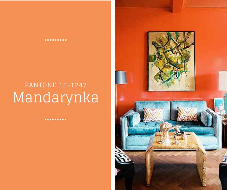 Mandarynka - Kolory Wiosny PANTONE